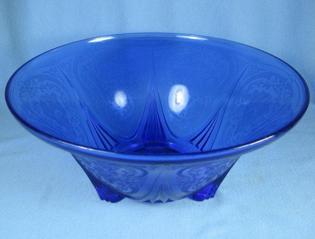 ROYAL LACE Cobalt Blue Depression Glass