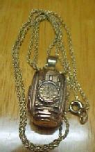 L.S.Ayres Store 14K GOLD Clock - Memborabelia