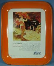FORD Automobile Advertising Tray