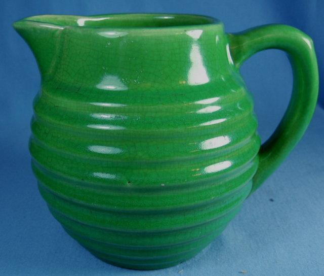 Bauer Art Pottery RING Pitcher
