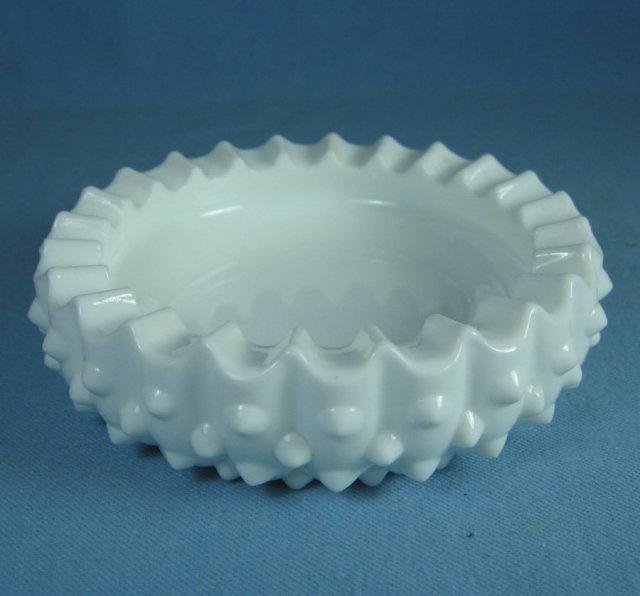 Fenton Milk Glass Pin Dish