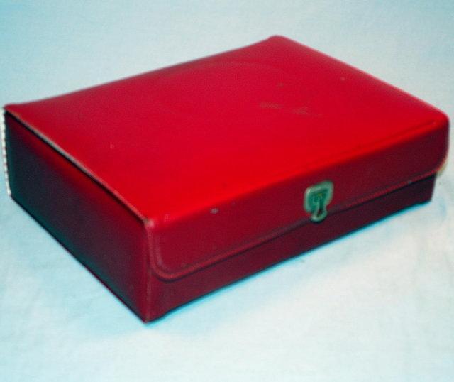 Electric Travel Iron in Original Case - Metalware