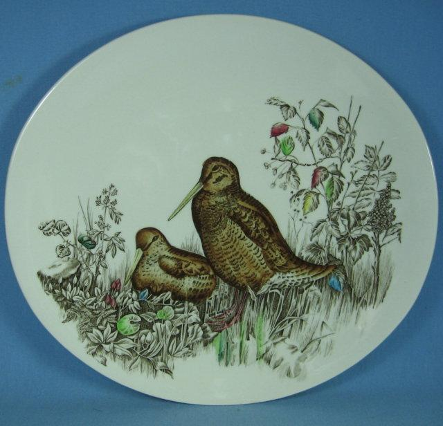Buffalo Pottery Hand Painted Plate - Antique 1906