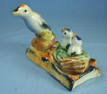 Bluebird BIRD and BIRDNEST Salt & Pepper Shaker Set - Vintag