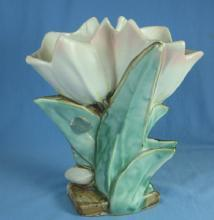 McCoy Double TULIP Planter Vase - Vintage pottery