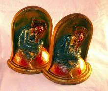 LOST HOPE Polychrome Bookends - Metalware
