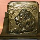 LION Expandable Sliding Base Bookend - Metalware