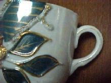 Old Shaving Mug - Porcelain/Fine China
