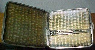 Cigarette Holder Sterling Art Deco - silver