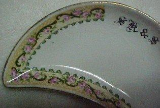 HUGHES, Longport Bone Dishes Set of 10 - Porcelain/Fine China
