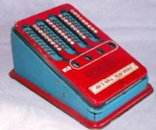 Colorful Wolverine Child's  ADDING MACHINE - Toys