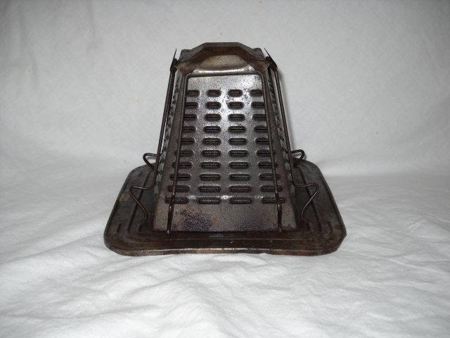 Toaster antique for wood stove