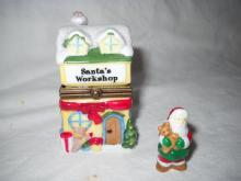 Santa work shop, miniatures