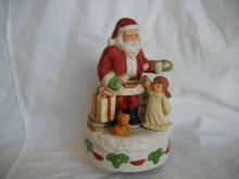 HOMCO Santa music box