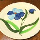 Blue Ridge SPRING GLORY Candlewick Plate - Fine Porcelain Pottery