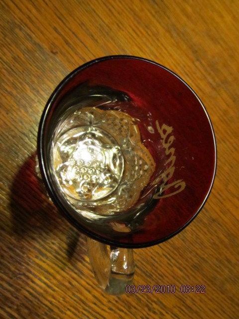 Souvenir Red Flash cup - Glass