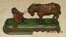 Always Did 'Spise A Mule Cast Iron Bank - Toys
