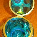 Art Deco Powder Box - Glass