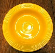 Fiesta Flat Soup Yellow Bowl - Porcelain/ Fine China