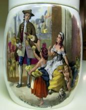 Staffordshire Marmalade Jar Vintage Extra Large Sandland Ware Made in England
