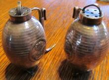 .950 Sterling Silver Salt & Pepper Set - Silver