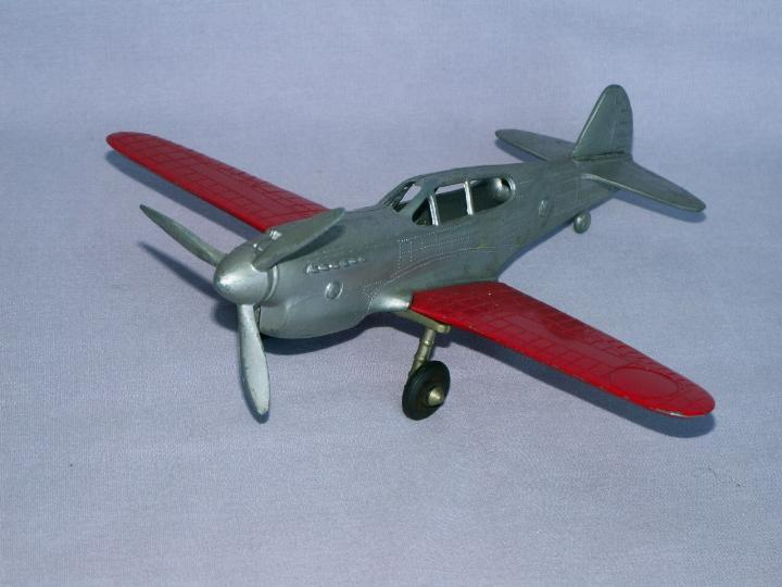 HUBLEY P-40 Airplane  - Toys
