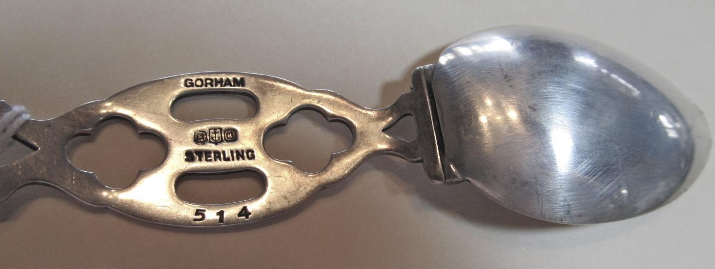 Gorham Folding Medicine Spoon - Silver