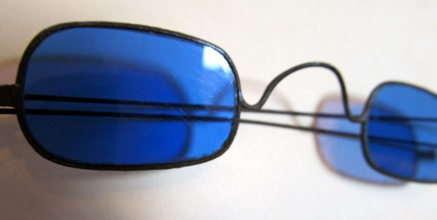 Cobalt Blue Colored Glasses - Glass