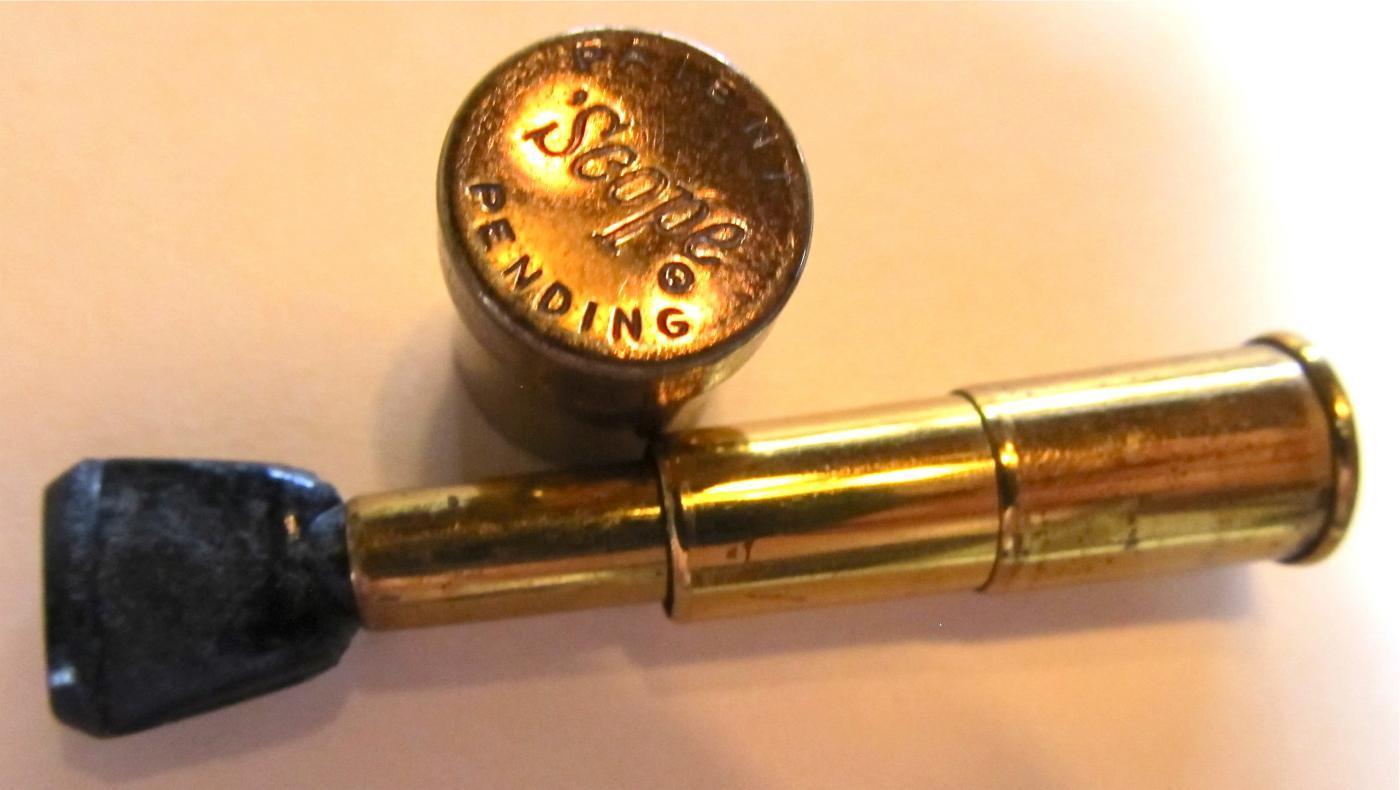 Cigarette Holder Scope in Case - Tobacciana