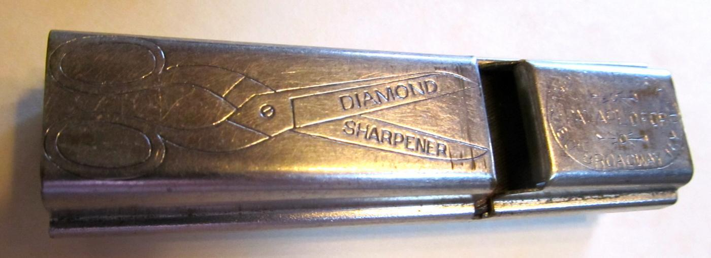 Diamond Cut Sharpener -  Scissors Sharpener Metalware