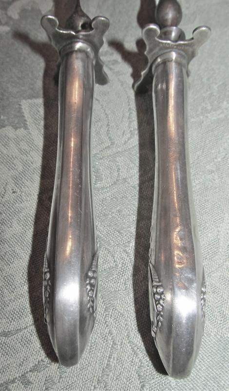 Old Sterling Meat Carving Set  - Silver