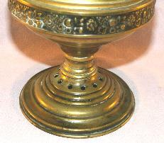 Decorative Brass Oil Lamp - Fine Art & Lamps
