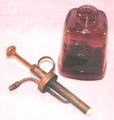 Amethyst Glass Sprayer Bottle