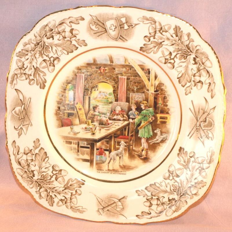 Decorative ROBIN HOOD Porcelain Plate