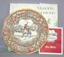 Chaucer's Canterbury Tales Porcelain Plate - THE  MILLER