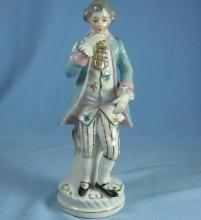 Occupied Japan Colonial Figurine - Vintage Porcelain