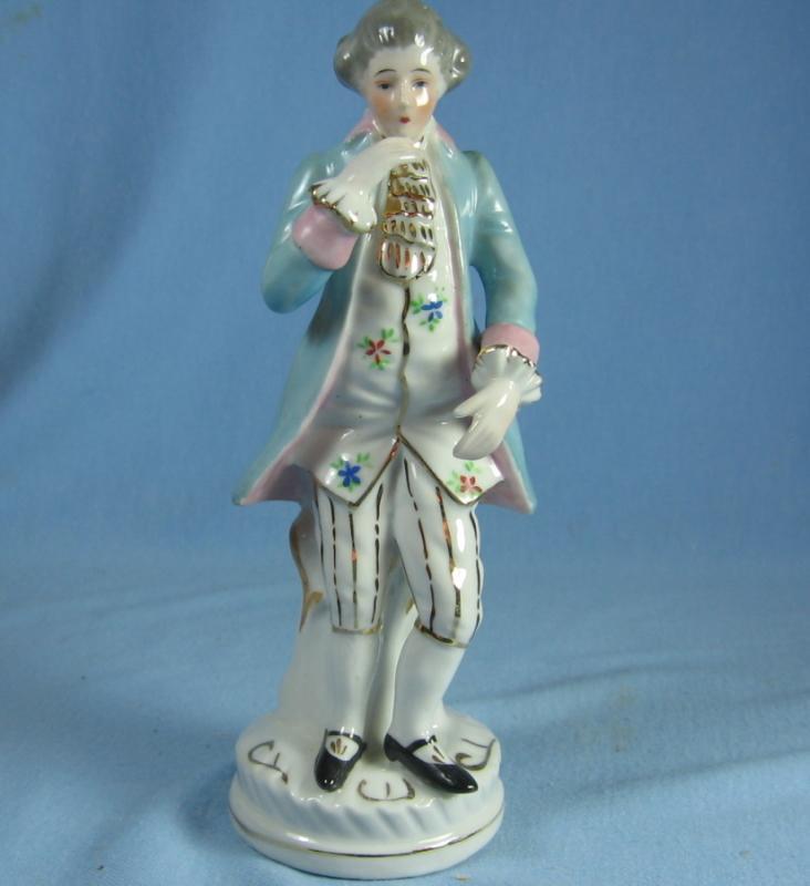 Occupied Japan Colonial Figurine - Vintage Porcelain