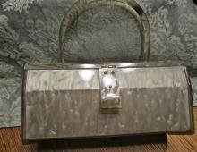 Lucite  Diamond-designed Purse