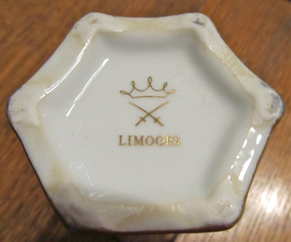 Hat Pin Holder - Porcelain/Fine China