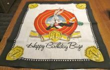 Bugs Happy Birthday 1989 Scarf - textiles