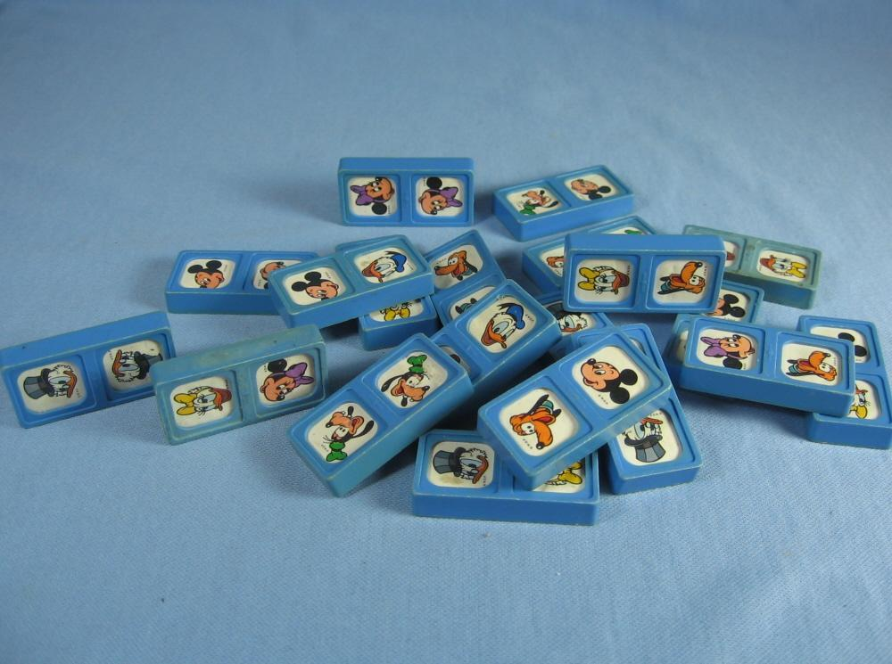 Walt Disney Charactor DOMINOS marked WDP toy