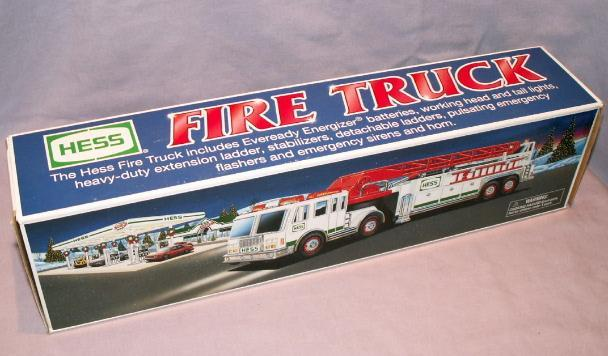 HESS 2000 Toy Fire Truck in Original  Box - Toys
