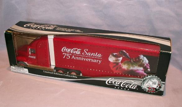 COCA-COLA Santa 75th Anniversary Truck in Original Box