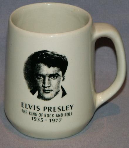 ELVIS PRESLEY Porcelain Coffee Mug
