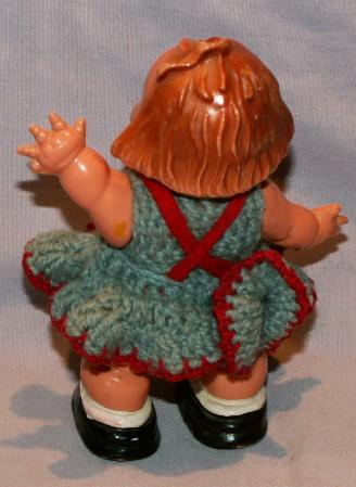 German Celluloid Little Girl Ramp Walker - Toys