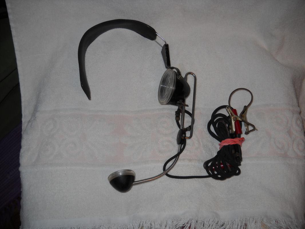 Western Electric Bell System operator head set