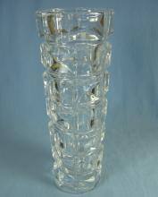 Kosta Flower Bud Vase - Vintage Art Glass