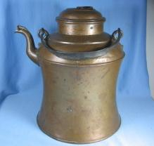 Lumberjack Copper TEAPOT or  COFFEE KETTLE - Antique metalware
