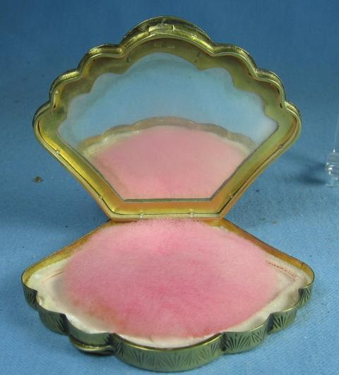 Guilloche Enamel Compact on Silver - Guilloche - FAL