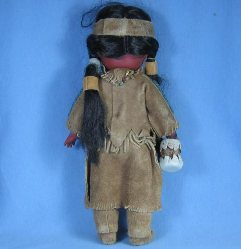 NAVAJO Indian Doll - Antique Ethnographic Native American Indian